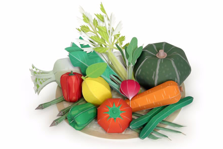 Поделки овощи и фрукты своими руками из бумаги