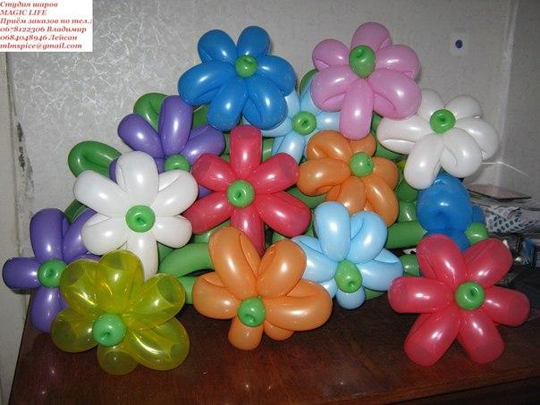 Корзина из шаров своими руками мастер класс
