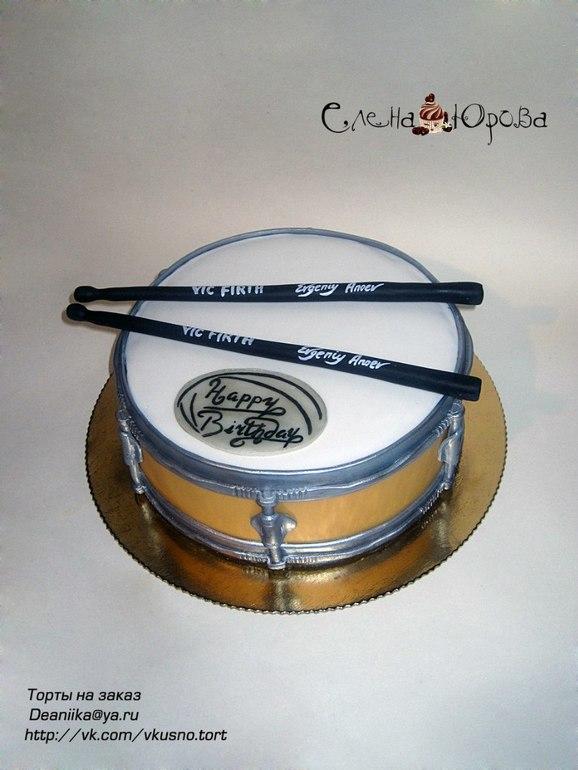 Торт барабан.