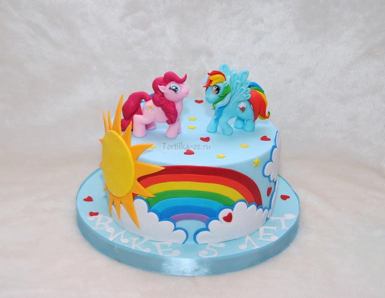 Детские торты фото пони