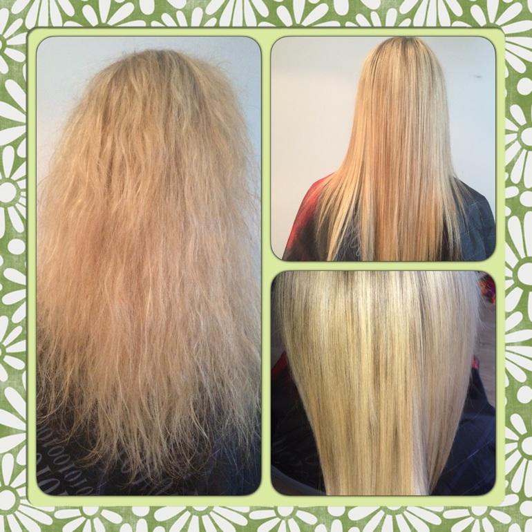 Как сделать полировку волос 500