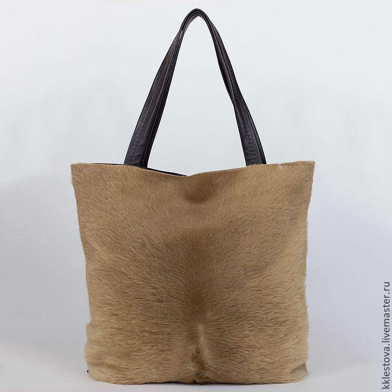 Мужская сумка из кожи кенгуру