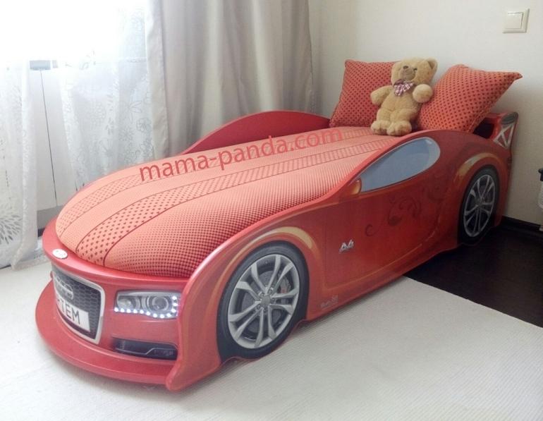 Фото кровать машина в интерьере
