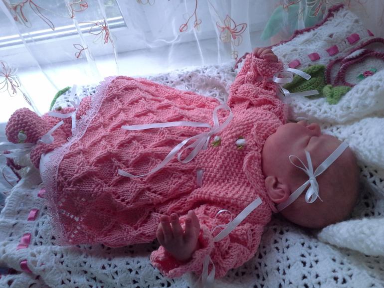 Вязание для новорождённых своими руками 86