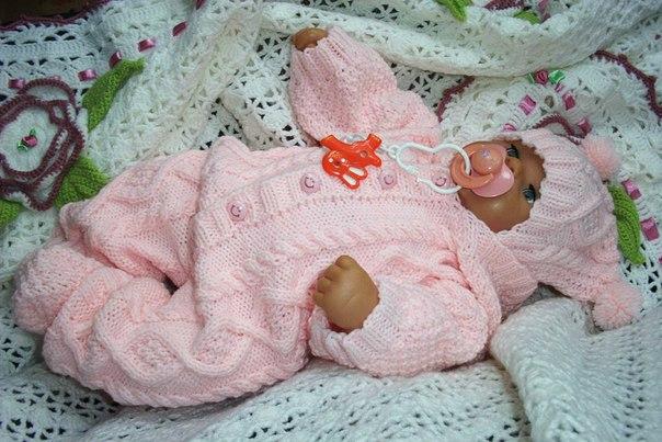 Схемы на вязаные вещи для новорожденных своими руками