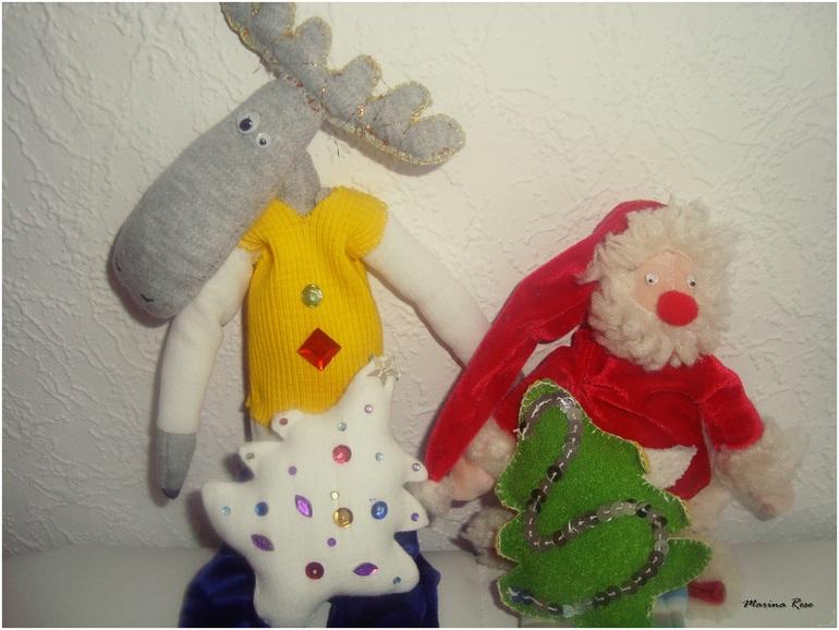 Мой  Санта  и  Лосяш