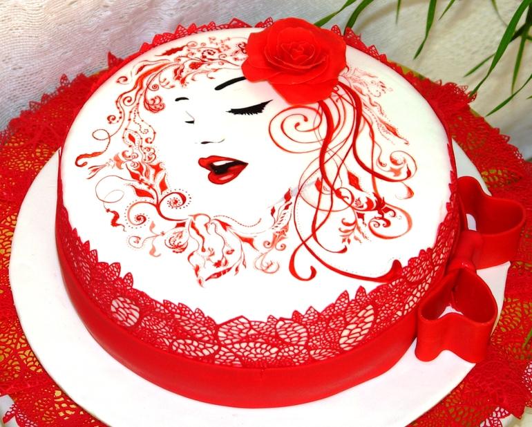 торт со знаком зодиака лев