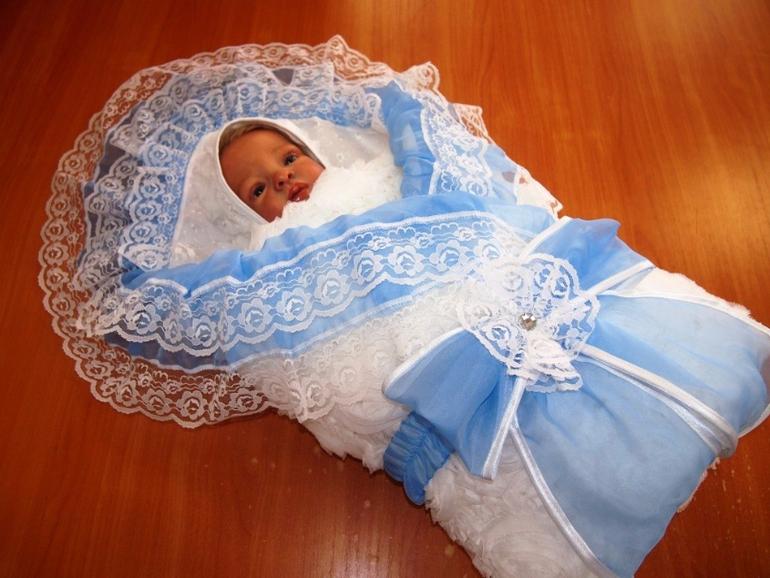 Комплекты для новорожденных из роддома своими руками