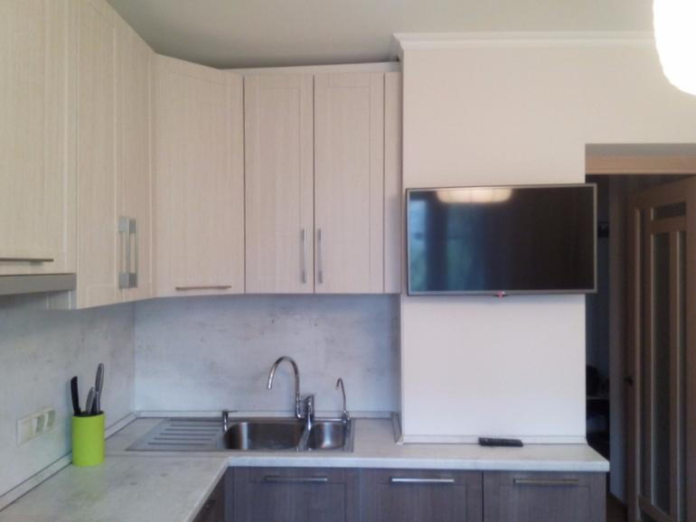 шторы в стиле модерн для кухни