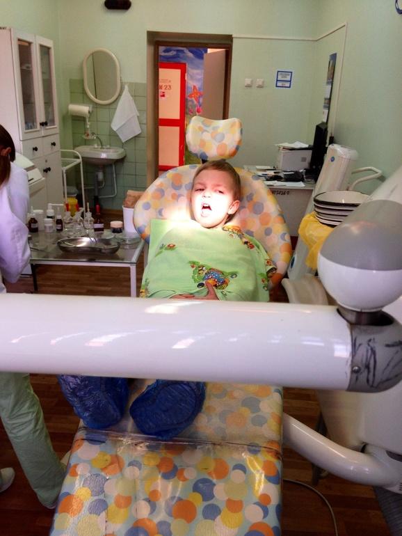 Боевое крещение у стоматолога