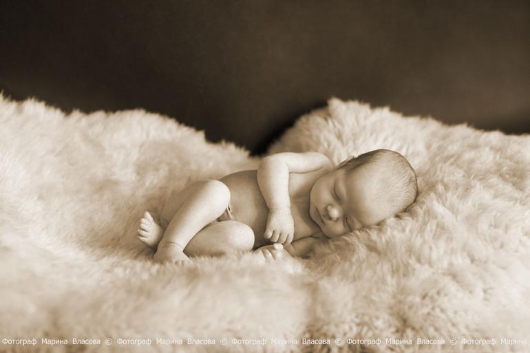 Бесплатная фотосессия Newborn