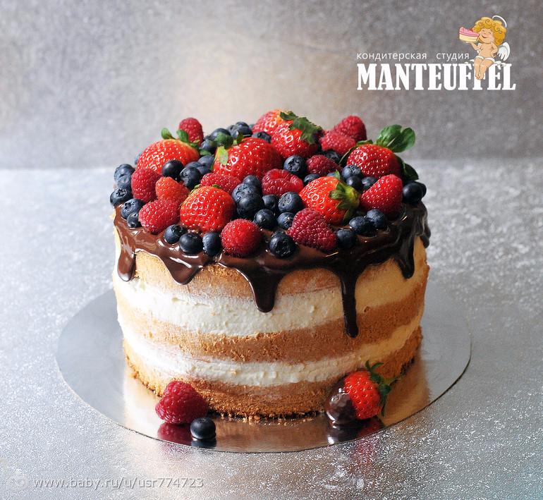 Торты с фруктами рецепты 190