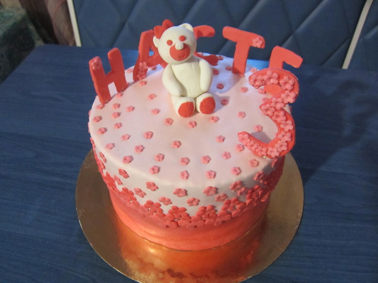Торт на День Рождение дочке