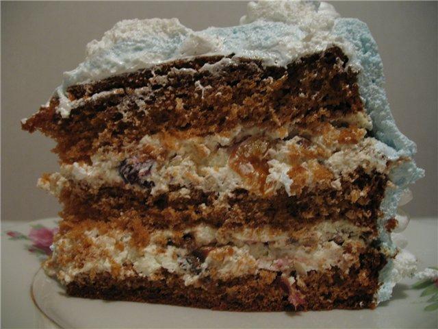 Рецепт с фото белого торта