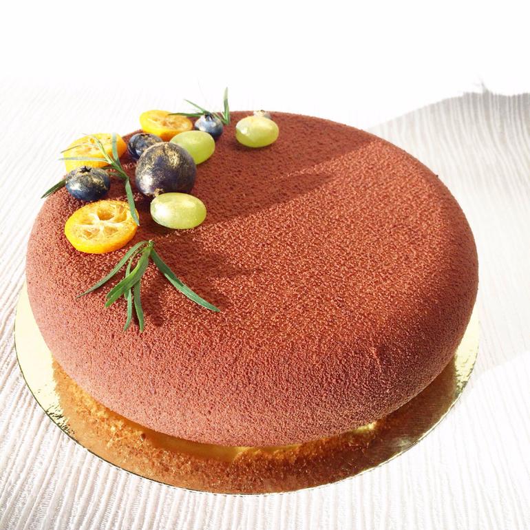 Торт в форме с дыркой