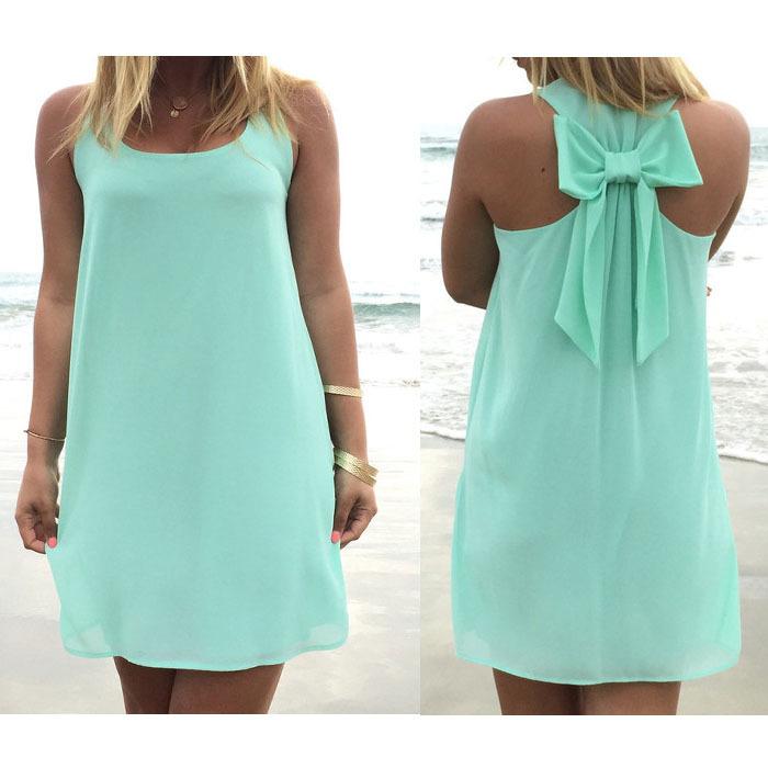 Легкие свободные летние платья
