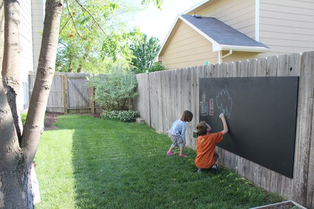 Доска для рисования на даче