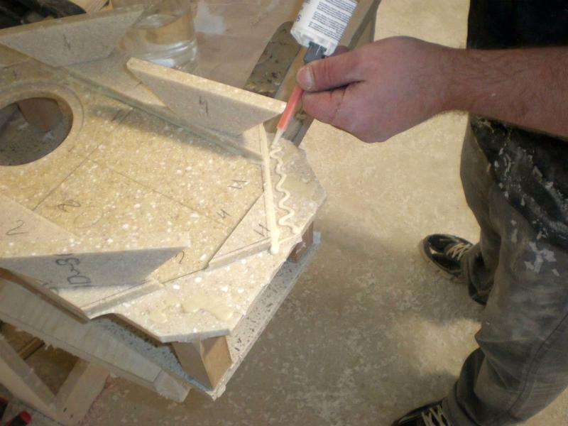 Как сделать акриловый камень