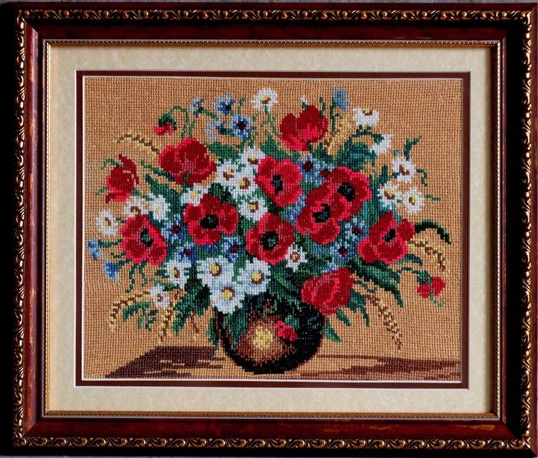 Фото схем вышивки бисером картины