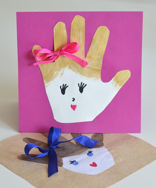 Делаем открытку своими руками для мамы