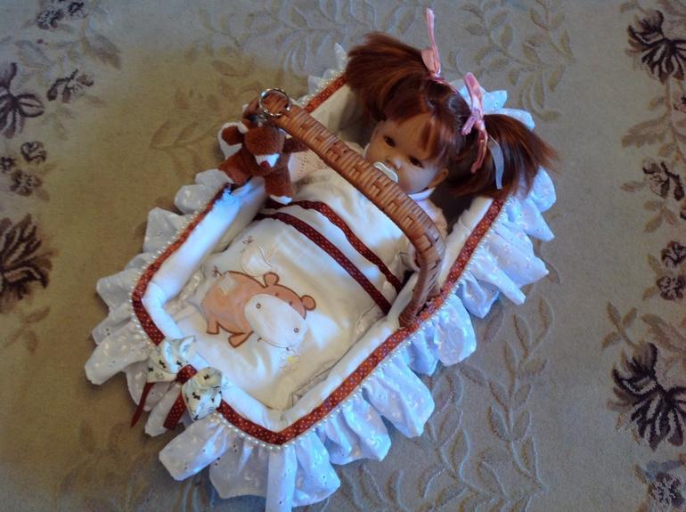 Как сделать кукле колыбельку для 15