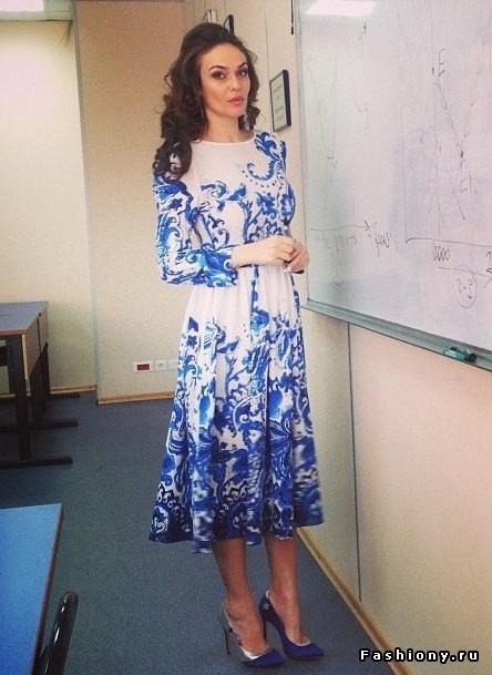 Алена Водонаева Платья