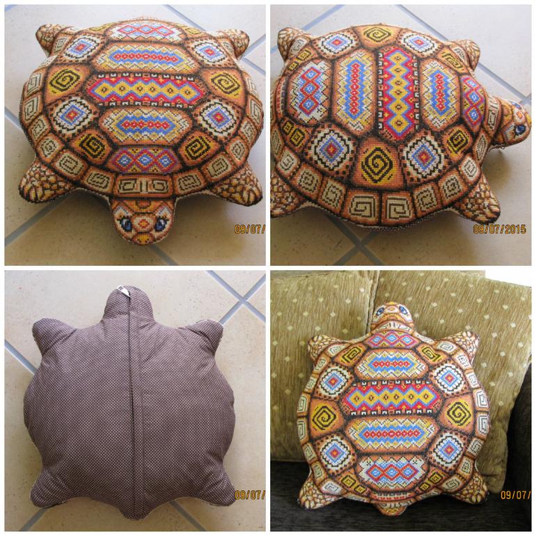 Как сшить подушку черепаху 28