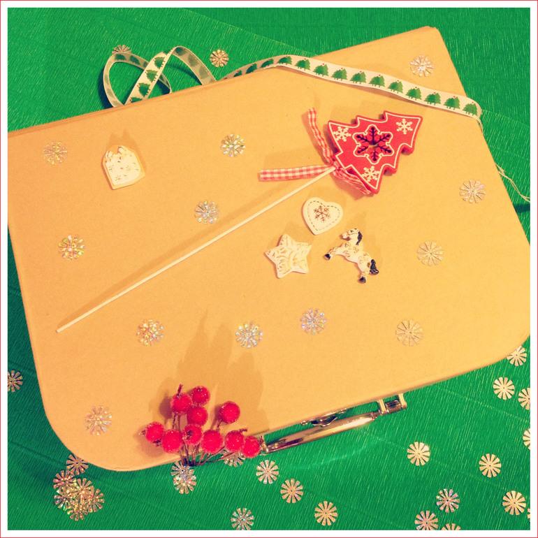 Новогоднее творчество из волшебного чемоданчика...
