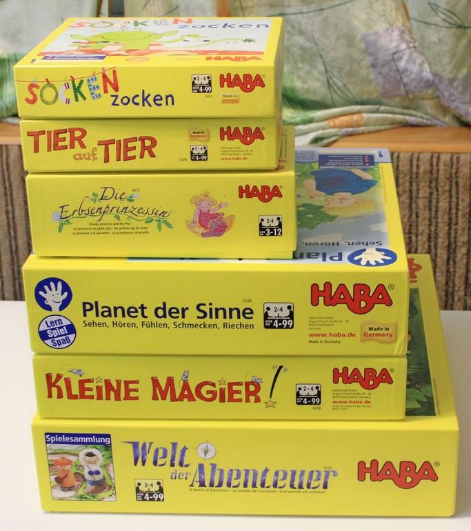 Мир настольных игр от HABA