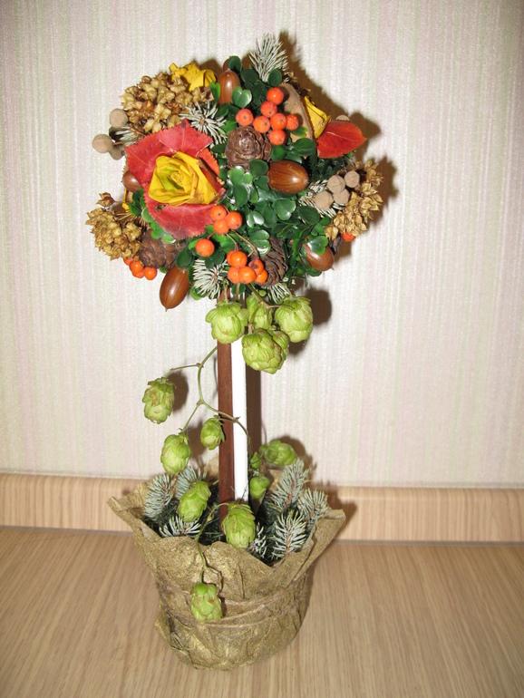 Поделки осень своими дерево осенние 54