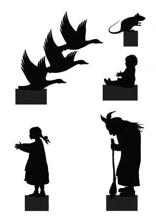 Фигурки для теневого театра своими руками 36