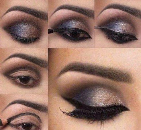 Красивый  макияж.4