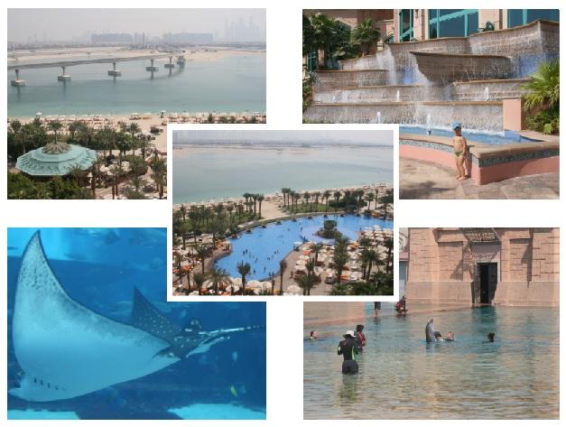 Дубай 2013. Отель Atlantis the palm *****