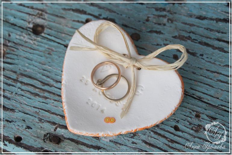 Тарелочка для колец из полимерной глины своими руками 25