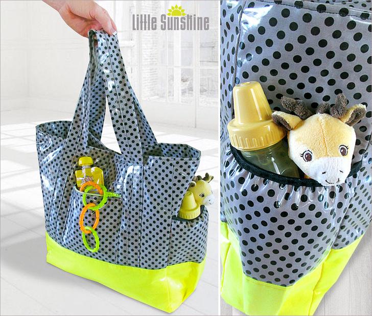 Как сшить сумку своими руками/ Сумка для мамы и малыша В 93