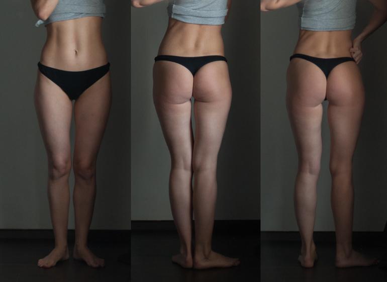 результаты домашних тренировок фото до и после