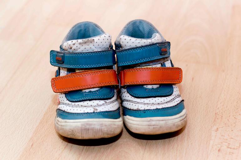 Туфли для офиса на невысоком каблуке