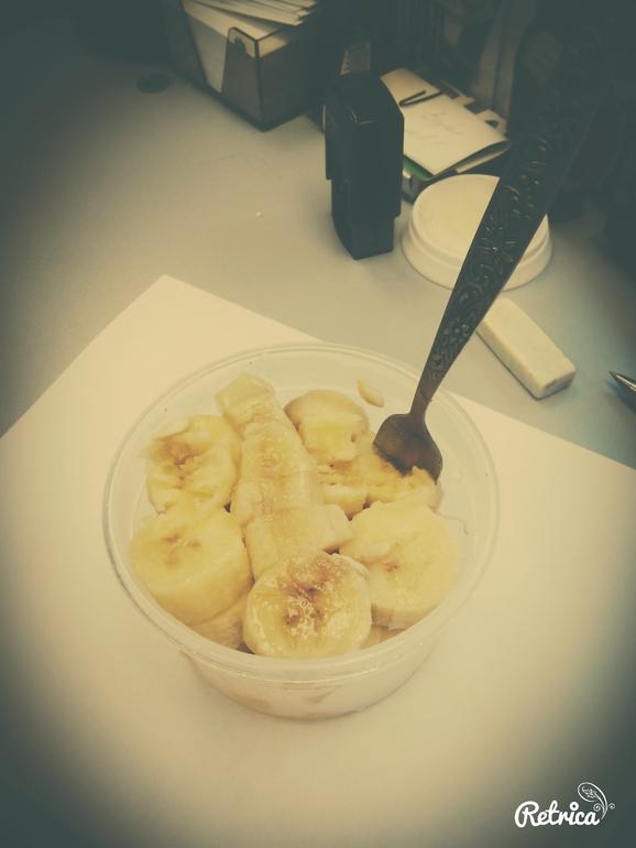 банановое мороженное...