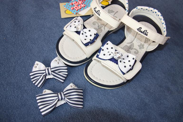 Летняя обувь для девочки НОВАЯ размеры 26-27