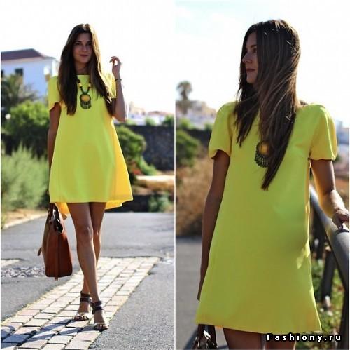 Платья Мешок Фото