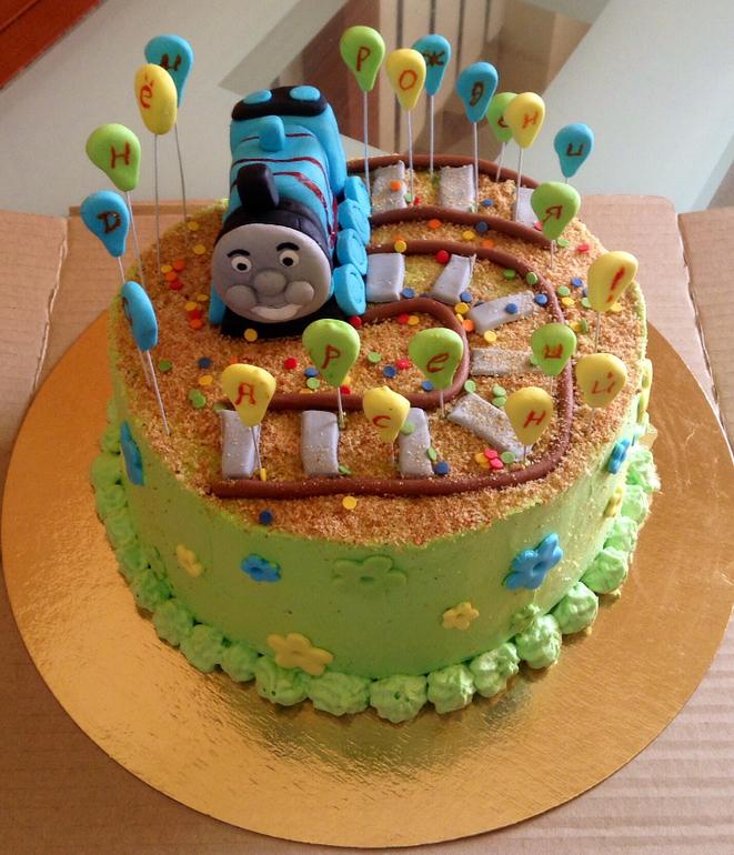 Как сделать детский торт