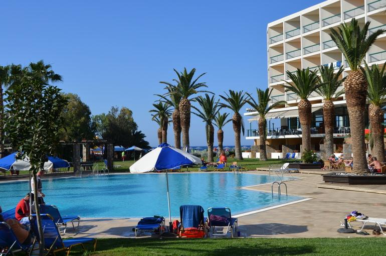 Греция, о. Крит отель Club Salut Sirens Beach май 2014.