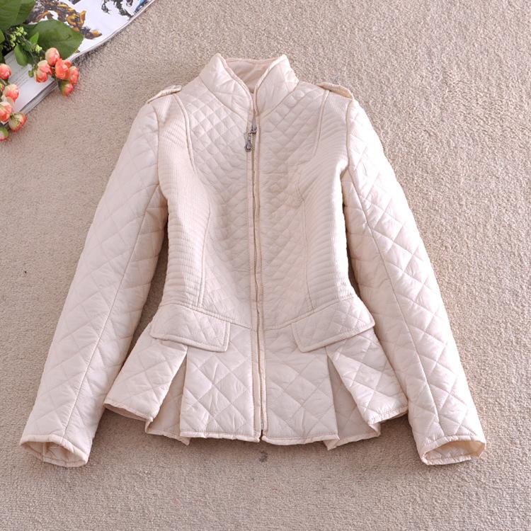 Модные стёганные куртки весна 2017