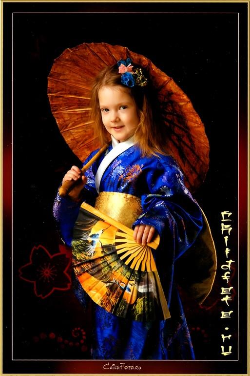 Моя младшая японочка.