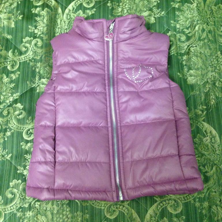 Куртки, ветровки, жилеты для девочек. От 2х до 11 лет ВСЕ В НАЛИЧИИ!