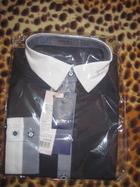 Пристрою две школьные рубашки B*O**R_N размер 146