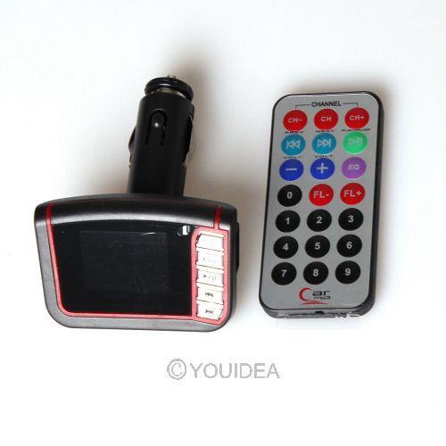 Модулятор для автомобильного MP4 MP3 плеера с ЖК дисплеем - 200 р - 2 дня
