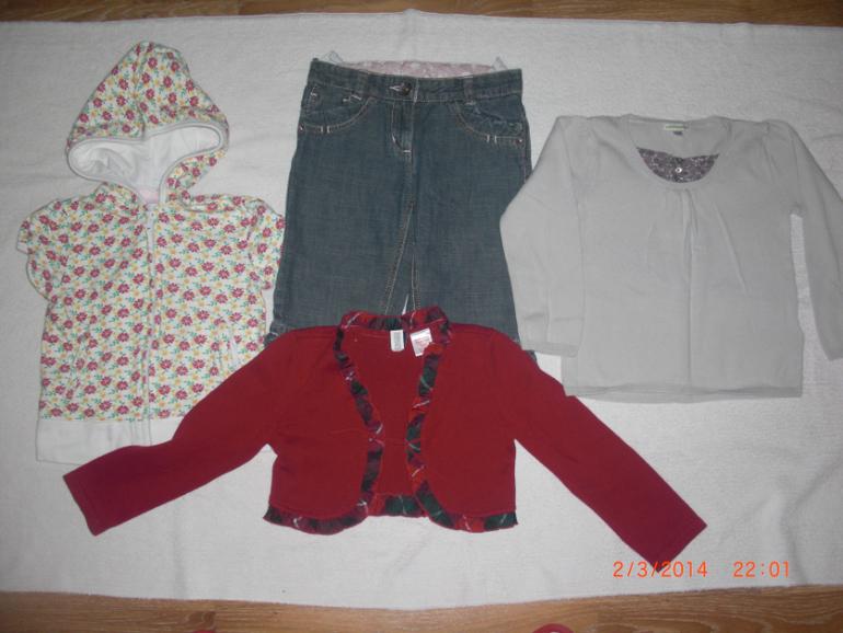 Одежда для девочки на 4-5 лет ПАКЕТОМ