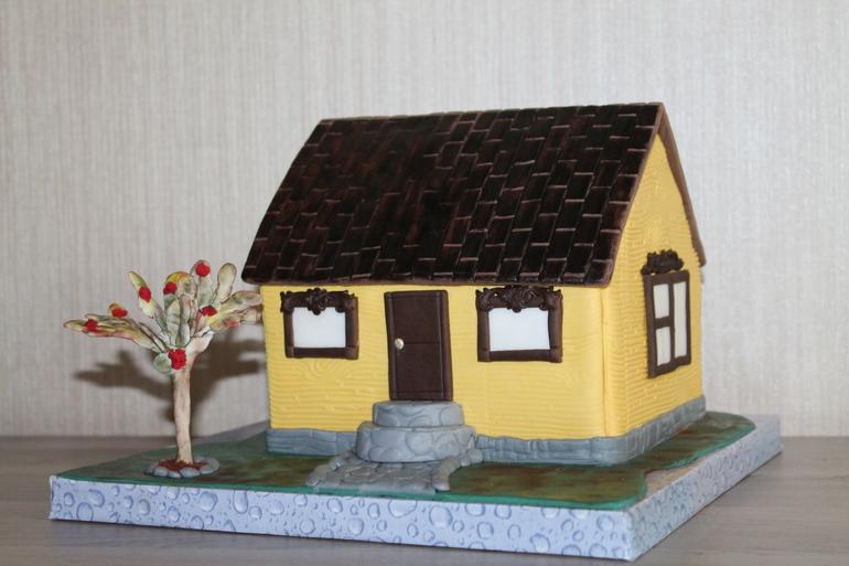 Торт дом как его сделать 684
