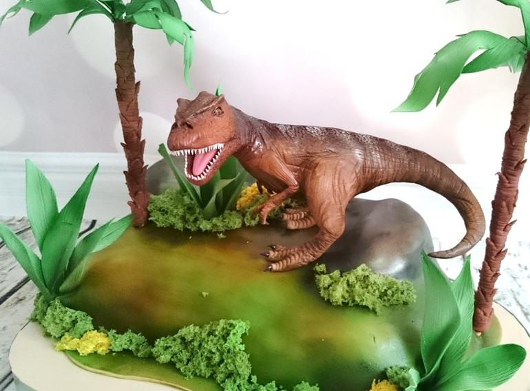 Как из мастики сделать динозавров 29